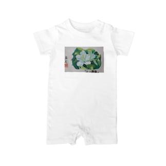 白山躑躅 Baby rompers