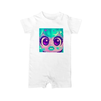 anime face Baby rompers