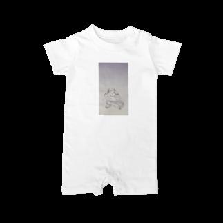 hentouの制服の女の子 Baby rompers