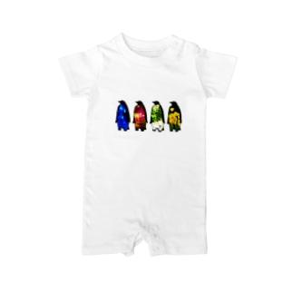 memory penguins Baby rompers