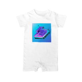 ANの宇宙少年 Baby rompers