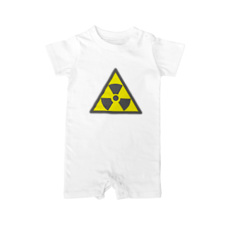 AURA_HYSTERICAのRadiation_S Baby rompers
