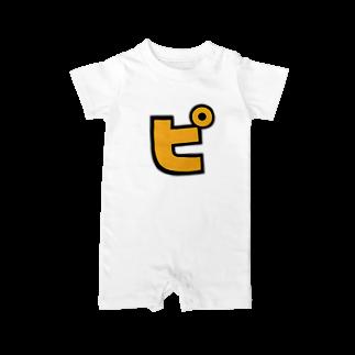 おもしろいTシャツ屋さんのピ Baby rompers