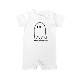 MymmyのOBAKE BEHIND YOU Baby rompers