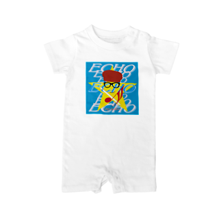 Logic RockStar  illustration Official StoreのECHO  Baby rompers