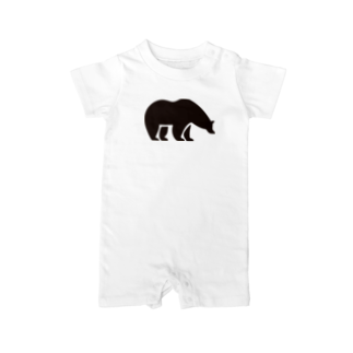 BASE-CAMPのBASE BEAR 01 Baby rompers