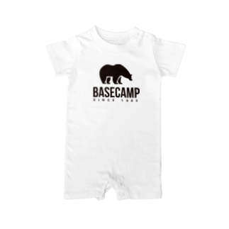 BASE-CAMPのBASE BEAR 02 Baby rompers