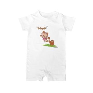 メープル~空飛ぶ羊の物語~ Baby rompers