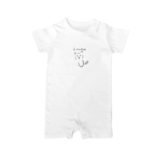 London Cat - maison pomme Baby rompers