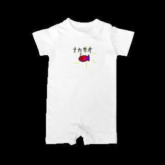 ivana425のおさかな社会主義 Baby rompers
