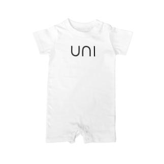 はやみのSUSHI NETA_uni Baby rompers