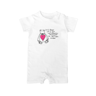 marksteindesignsのTHE BEAR Baby rompers