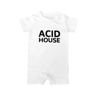 ACID HOUSE Baby rompers