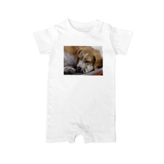 sleep dog Baby rompers