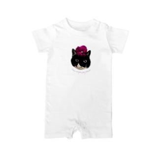 パンジー・クマ Baby rompers