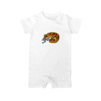 フルーツタルト Baby rompers