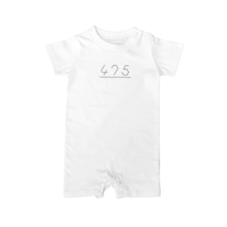 475 Baby rompers
