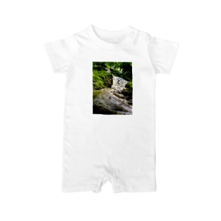 タイの滝 Baby rompers