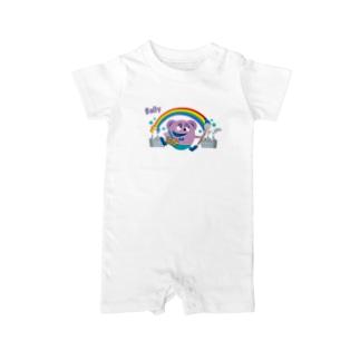 風船モンスター バリー(カラー) Baby rompers