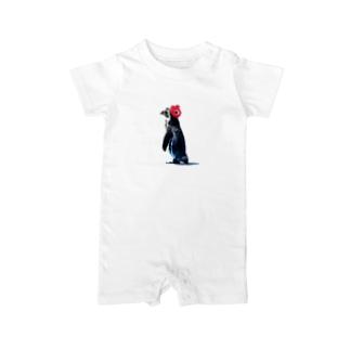 amazing penguin Baby rompers