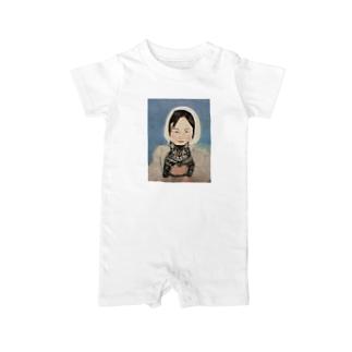 少女のデザイン Baby rompers