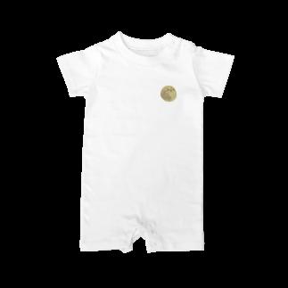 pochette design studioの満月イラスト Baby rompers
