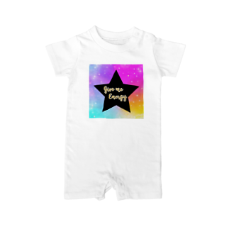 DOLUXCHIC RAYLOのGive me energy Star Baby rompers