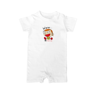 charlolのwww charlie QR Baby rompers