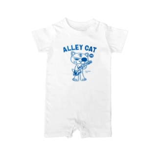 ALLEY CAT 〜ドラ猫モータース ギター/ナックル〜 Baby rompers