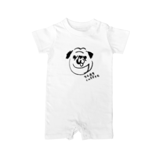 9689coffeeのゴーヤくん Baby rompers