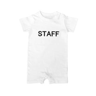 スタッフ STAFF が着用するやつ Baby rompers