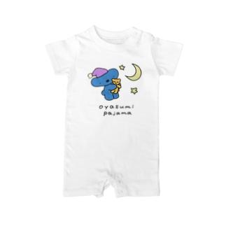 おやすみパジャマ Baby rompers