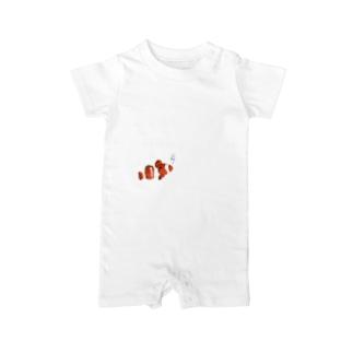 Clown anemonefish Baby rompers