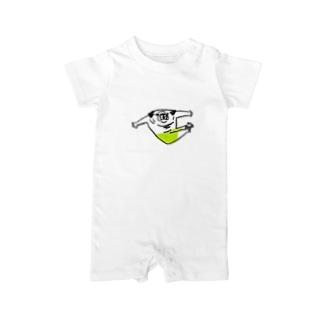 ぱぐぱぐ組体操(プログラムNo.5V字バランス) Baby rompers
