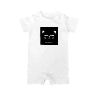 ZooBeenucoフェイス Baby rompers