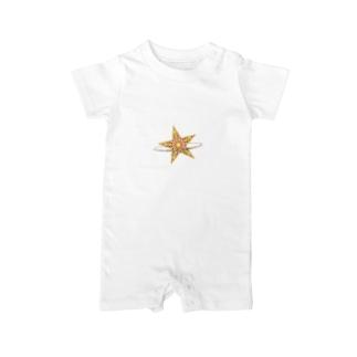 星と星屑 Baby rompers