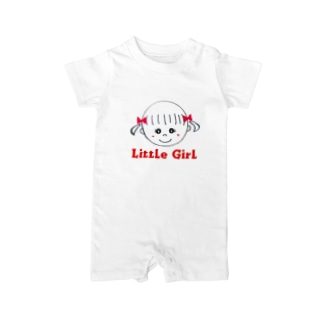 Little Girl Baby rompers