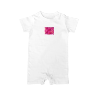 pink strawberry(硝子加工) Baby Rompers