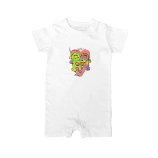 LOVE -HirocoIchinose- Baby rompers
