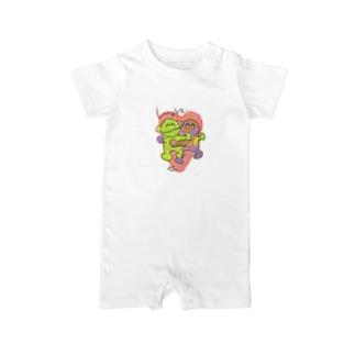 LOVE -HirocoIchinose- Baby rompers