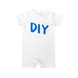 DIY B Baby rompers