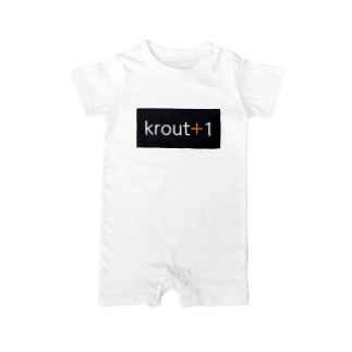 krout+1 Baby rompers