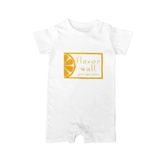 flavor wall Baby rompers