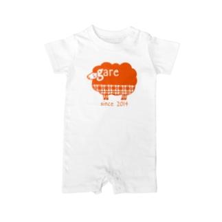 ガレリー オレンジ Baby rompers