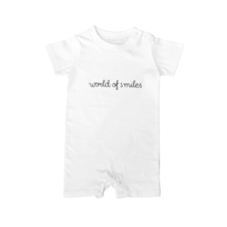 World of smiles ベイビーロンパース Baby Rompers