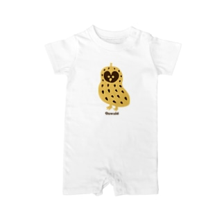 【THE THREE OWL PEANUTS】Oswald Baby Rompers