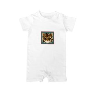 tora/pixel Baby rompers