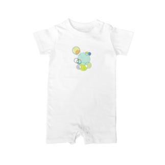 Shuwa-Shawa-Bubbles Baby rompers