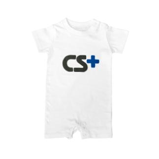 CSplusロゴ Baby rompers