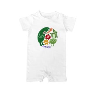 Gemüse_Monster Baby rompers